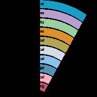 Visual representation expertise areas