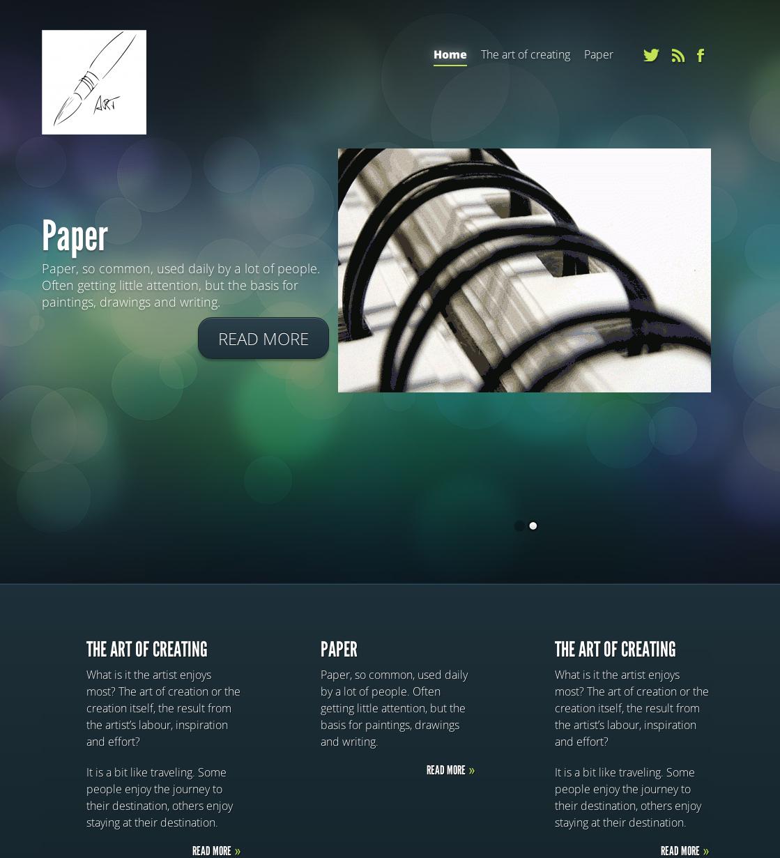 Webdesign PensandArt