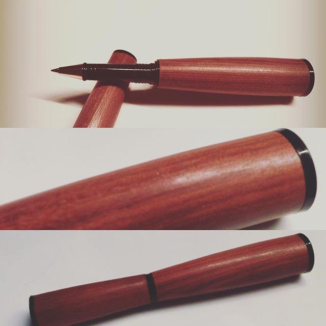 Purple Heart turned in to a nice roller pen