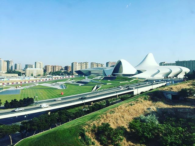 Remembering zaha #hadid in Baku
