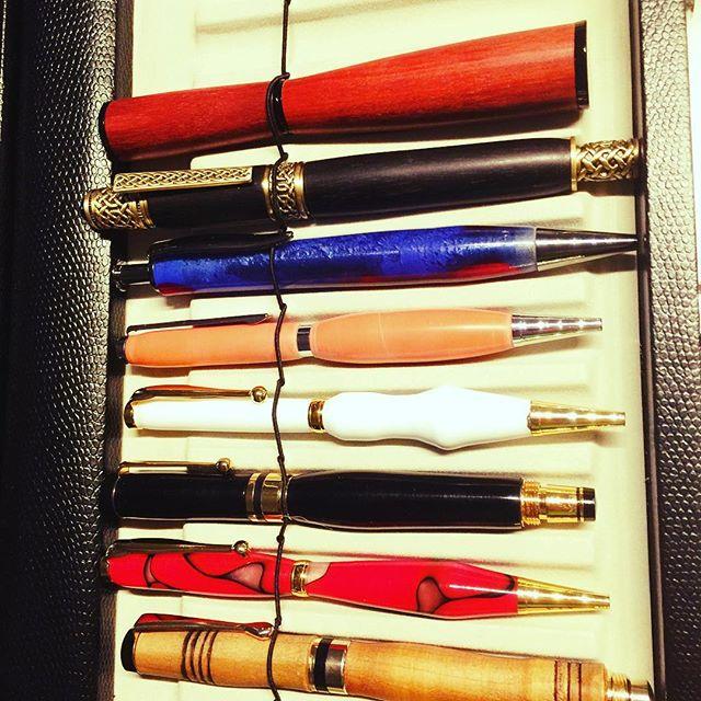 Building my collection #penturning #pensandart