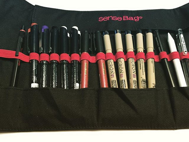 My doodle tools finally organised