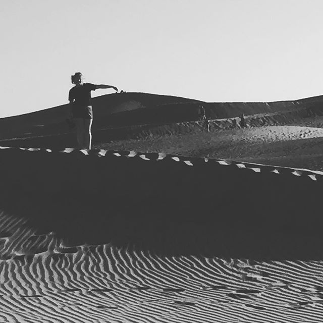 Taming the dunes