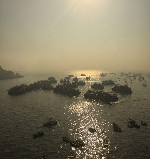 Morning at gateway of India, Mumbai #tajpalacehotel #gatewayofindia