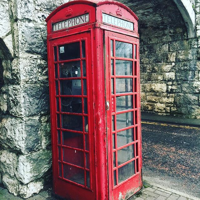 An anachronism in this modern age #phonebooth #ireland