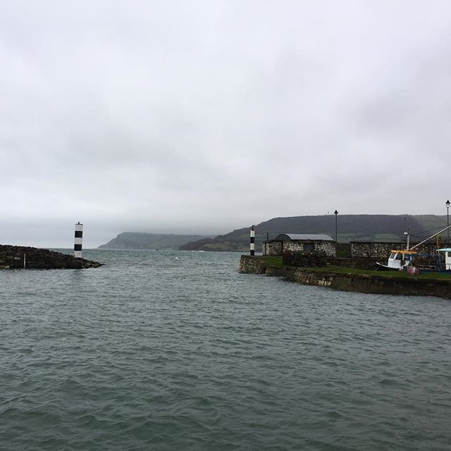 Safe harbouring, sheltering from rain, wind and waves #ireland