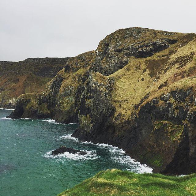 Wild ocean #ireland